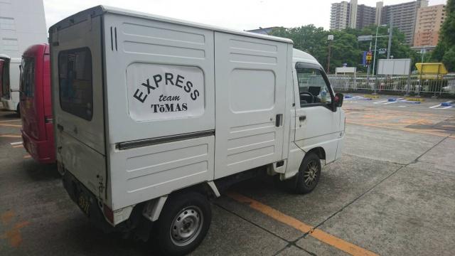 箱型軽トラック